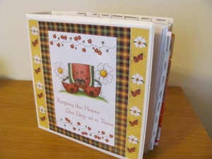 Mom's Household Planner Notebook with Divider Tabs