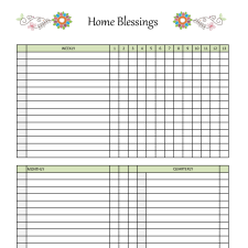 Household / Home Maintenance Planner Pages