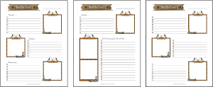 TO-DO PAGES