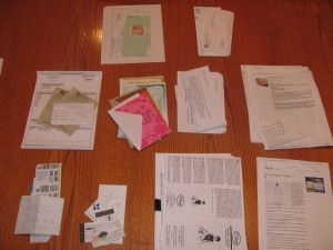 Make a Household Planner Notebook: Sort the mess!