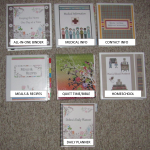 Make a Household Planner Notebook #2: Covers & Spines