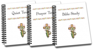 BIBLE STUDY & QUIET TIME PAGES