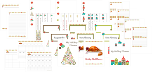 Holiday Planner Sampler