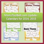 Household Planner Calendars 2014 & 2015